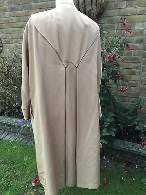 Lachasse couture Vintage gold opera coat M 1950s