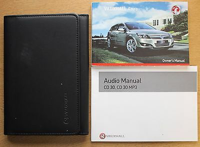 Vauxhall Astra H Owners Manual Handbook Wallet 2004-2010 Pack 12396
