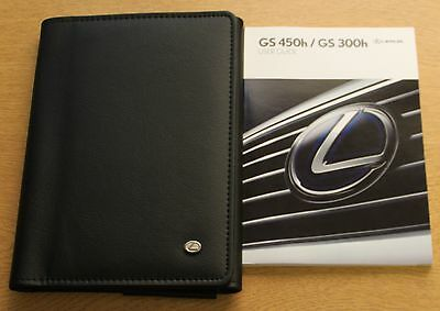 LEXUS GS 450h / GS 300h HANDBOOK USER GUIDE WALLET 2012-2015 PACK 4208