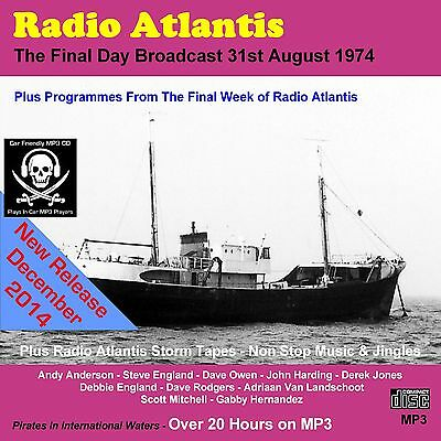 Pirate Radio Atlantis 21 hours Including THE FINAL DAY CAR FRIENDLY MP3 Version