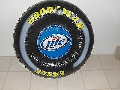 Miller Lite BEER SIGN Inflatable NASCAR RACING GOOD YEAR EAGLE TIRE