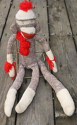 "Vintage Sock Monkey ""Mr. Big Tail"""