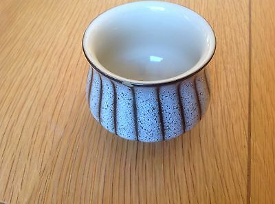 Vintage Retro Denby Studio Sugar Bowl Grey VGC 60's 70's