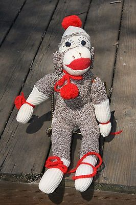 "Vintage Sock Monkey ""Mr. Festive"""
