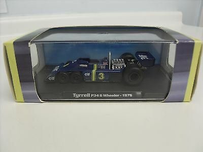 Rare and Boxed Atlas Editions TYRRELL ELF P34 6 Wheeler 1976 F1 Grand Prix Car