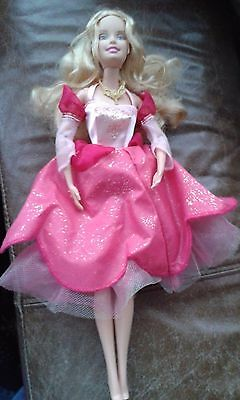 Barbie Princesses Genevieve Doll, with light up dress