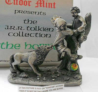Rare Boxed  Myth And Magic Hobbit Tolkien - Escape From The Wargs By Tudor Mint