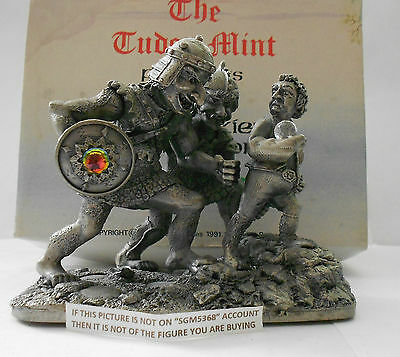 Rare Boxed  Myth And Magic Hobbit Tolkien - Capture Of Bilbo By Tudor Mint