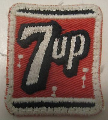Nos Vintage 7 Up Soda Pop Advertising Cloth Patch