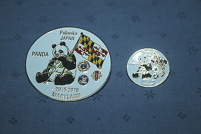 2016 Maryland Lions Club Pin Set
