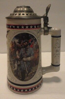 Longton Crown T.I. Stonewall Jackson Heroes Of The Civil War Tankard Stein