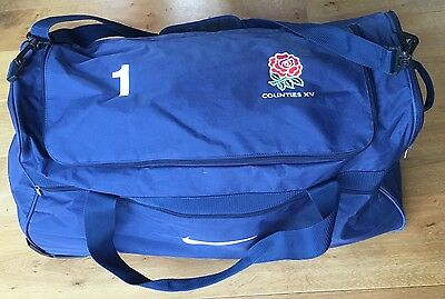 Player issue: England Counties Rugby Tour bag - RARE