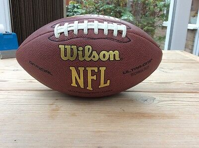 Wilson NFL American premium composite leather football offical size