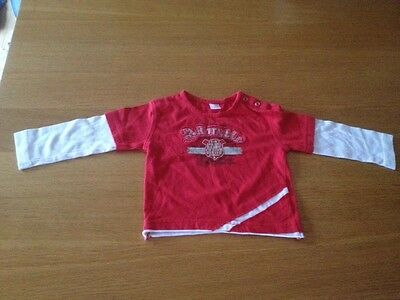 Adorable Red/White Top 18-24 Months