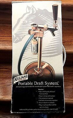 Portable Beer Draft System Tap Nib Leland Keg Picnic Tailgate College Party Camp
