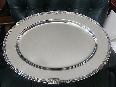Antique Gorham Sterling Silver Serving Tray Landsdowne Pattern 1920 Mark