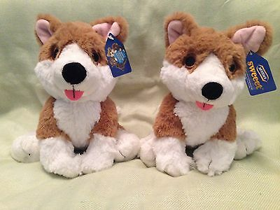 Two McVities Sweeeet Collectable Pups Plush Toys