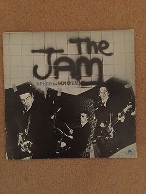 The Jam - In The City 7 In Single 1st Pressing