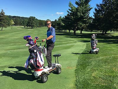 THE STAND-UP GOLF CART  Making The Game More Fun