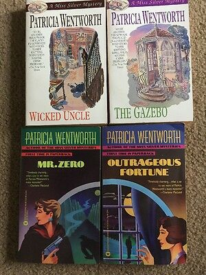Lot of 4 mysteries books by Patricia Wentworth