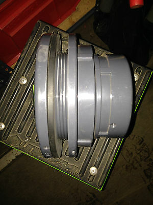 """Spears 4"""" PVC Tank Adapter - EPDM FPTxFPT"""