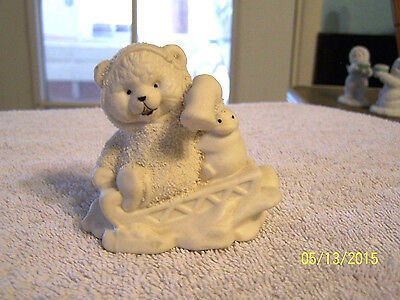Snowbabies Bear ??? Not Sure If It Is Dept 56 But Looks Like The Snowbabies--