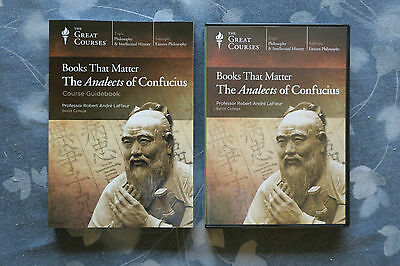 Books That Matter: The Analects of Confucius DVDs Teaching Company Great Courses