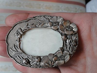 Antique Art Nouveau  Brass Photo Frame . Very Nice Rare