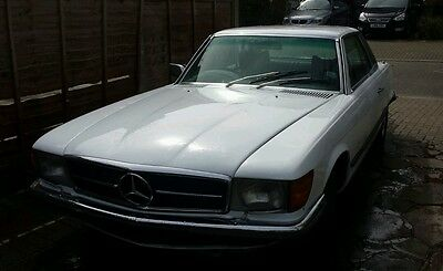 2 x Mercedes 450 SLC Auto One completed/ One renovation project