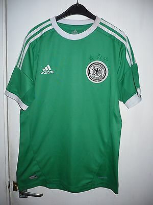 GERMANY  football shirt - 2012/13, away - (small)