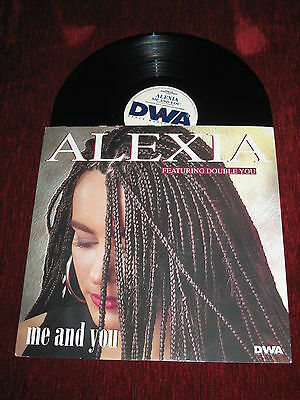 ALEXIA feat DOUBLE YOU mix '12 extended ME AND YOU (1995)