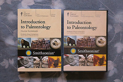 Introduction to Paleontology DVDs & Guidebook - Teaching Company Great Courses