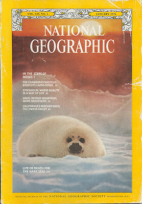 National Geographic January 1976