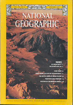 National Geographic January 1977