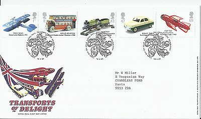 2003 GB Transports of Delight First Day Cover Tallents House Postmark VGC (1768)