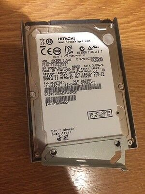 ps3 super slim Hard drive 500gb With Mounting Case