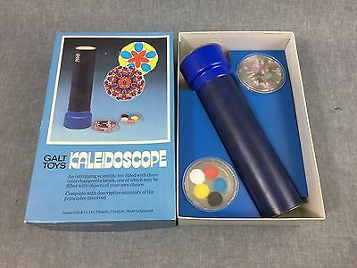 Galt Toys Kaleidoscope, vintage 70s/80s, complete, boxed.
