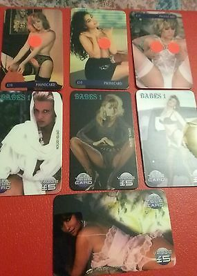 Phonecards – Seven Erotic Phonecards Glamour Girls