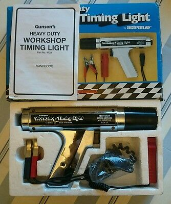 Boxed, Gunson's, Heavy Duty, Xeon, Workshop, Timing Light Gun.