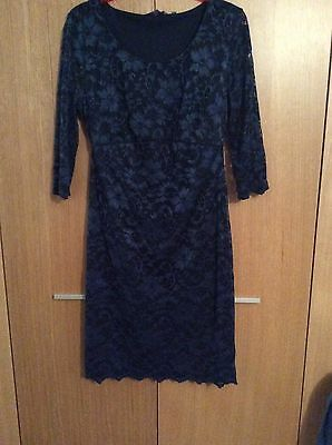 New Look Lace Maternity Dress Size 12