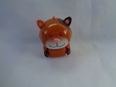2002 Tomy Micropets Coco Brown Kitty / Cat Electronic Interactive Toy