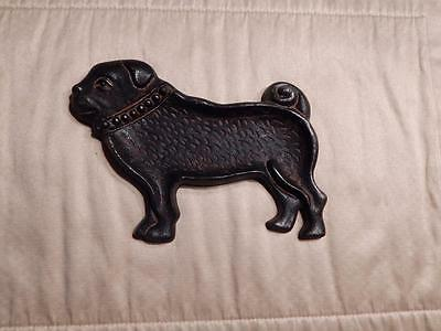 Cast Iron Bulldog Key/Change Holder