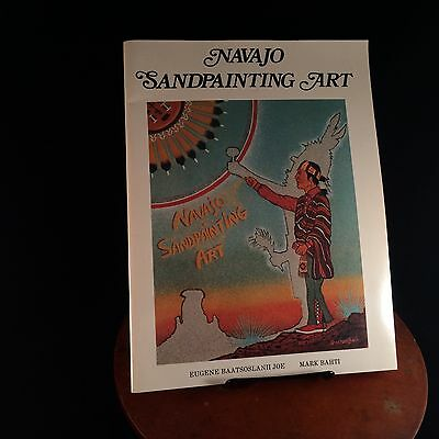 Vtg 1978 Navajo Sandpainting Art By Mark Bahti Native American history illus.