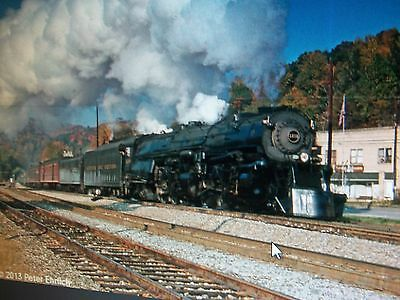 1218 N&w Steam Engine From Ashtabula, Ohio To Bellvue, Ohio Dvd
