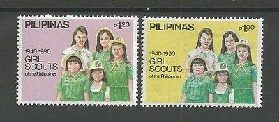 1990 Girl Scouts Philippines