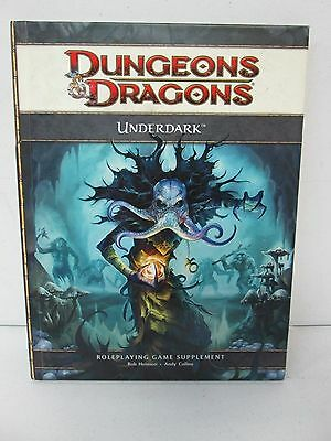 Dungeons & Dragons Roleplaying Game Supplement Underdark