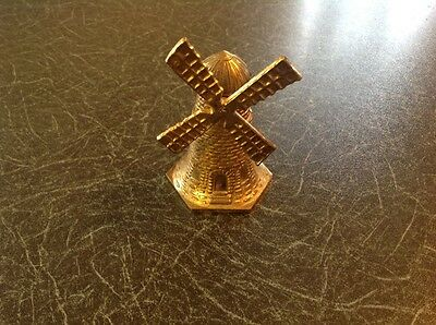 Brass Bell in shape of Windmill