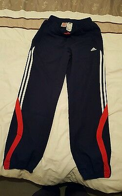 adidas tracksuit bottoms age 13/14