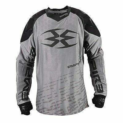 Empire Paintball Contact F5 Jersey - Grey/Black - 2XL