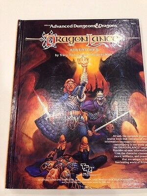 TSR 2021 Advanced Dungeons and Dragons: Dragonlance Adventures (1987)